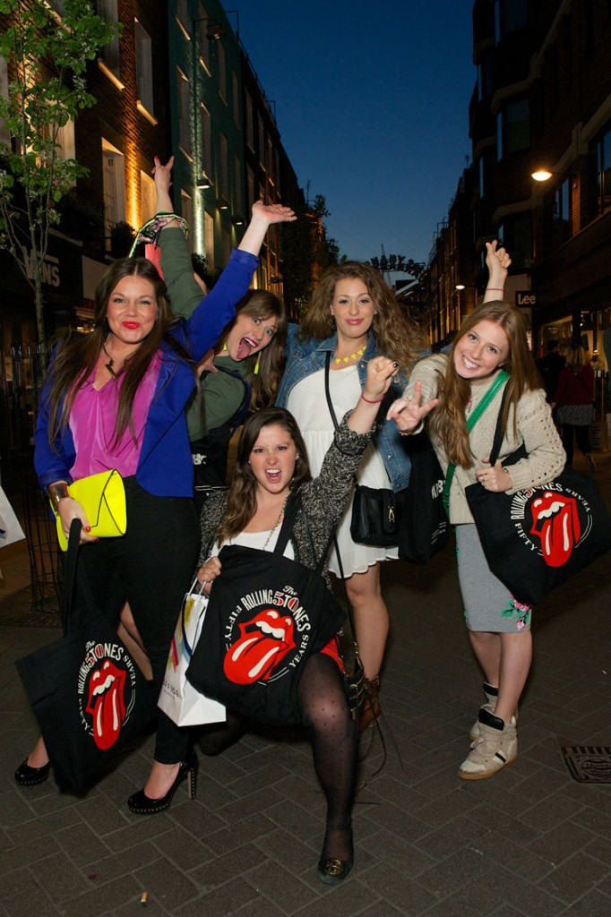Shoppeuses sur Carnaby street