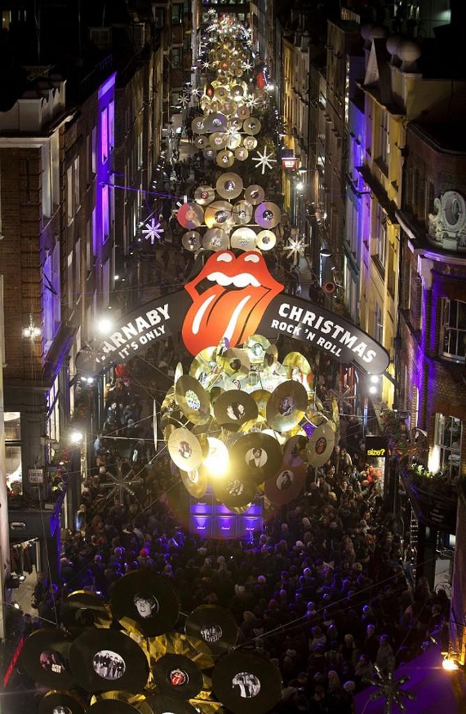 Carnaby Street, le coeur du swinging london