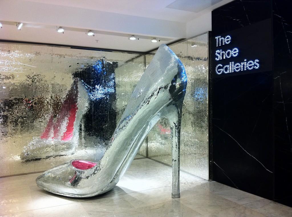 Selfridges, le paradis de la chaussure