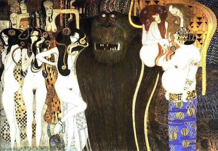 La frise Beethoven de Klimt