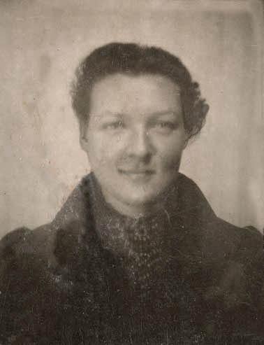 Portrait de Charlotte Salomon en 1939