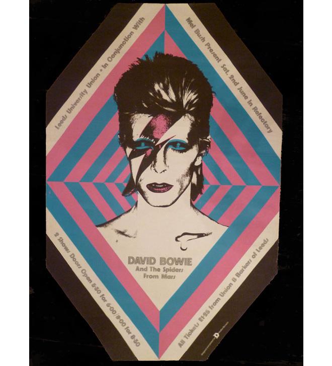 Poster de David Bowie par John Brett
